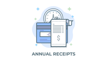 annual receipts addon for give