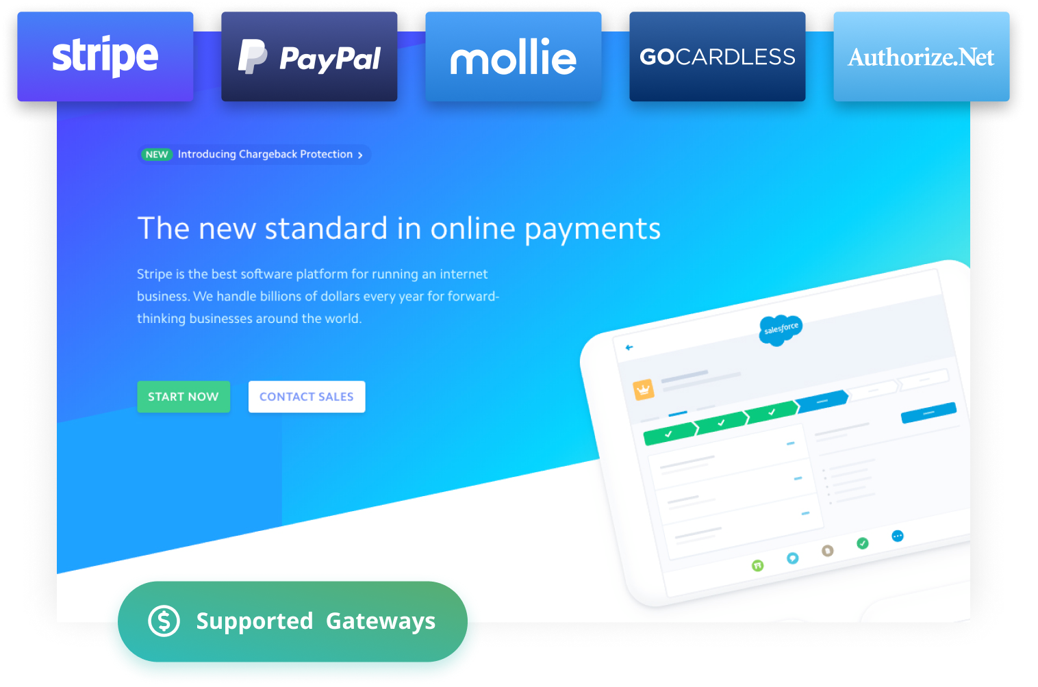 Use Stripe recurring donations, paypal recurring donations, or connect to other gateways that are compatible with subscription donations, like Mollie, GoCardless, and Authorize.Net